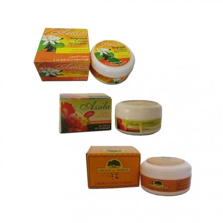 Pack 3 Crèmes Hydrantes du Maroc