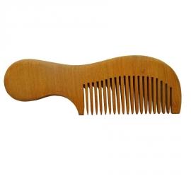 Peigne à cheveux en bois (14 cm)
