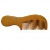 Peigne à cheveux en bois