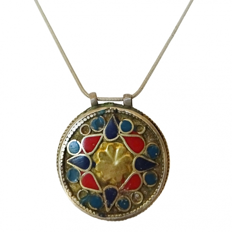 Collier pendentif Ethnique Pakistan