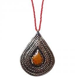 Collier Pendentif Ethnique Kenwa
