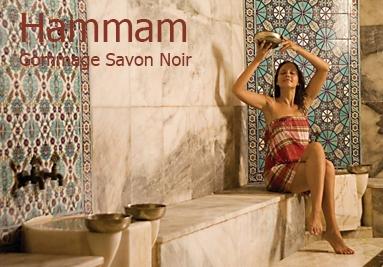 Hammam Gommage Savon Noir